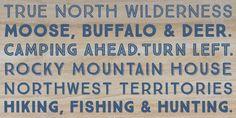True North - Webfont & Desktop font « MyFonts
