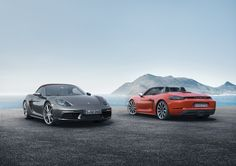 Porsche 718 Boxster Revealed With New Turbod 4