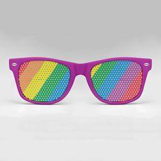 Eyepster Rainbow Wayfarer now featured on Fab. (7/17/12)
