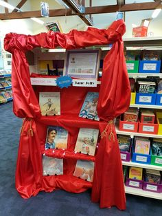 Stage set for a visit from Jane Jolly. Stage Set, Author, Display, Floor Space, Billboard, Writers