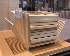 Museo del Prado furniture. allende arquitectos exhibition. Opening Iris Building. June 2003. By allende arquitectos