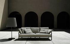 Lissoni & Partners is an interdisciplinary studio for Architecture, Interior Design, Product/Lighting Design, Graphics, Art Direction and Corporate Identity Sofa, Couch, Marquis, Corporate Identity, Lighting Design, Outdoors, Interior Design, Architecture, Furniture