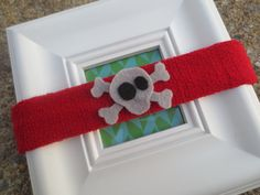 What Little Boys are Made of Baby Sweatbands by BandBinas on Etsy, $10.00