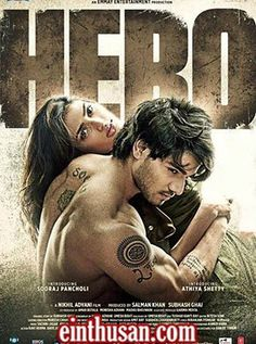 Hero (2015) Hindi Movie Online - Sooraj Pancholi and Athiya Shetty. Directed by Nikhil Advani. Music by Amaal Mallik. 2015 [U/A] w.eng.subs
