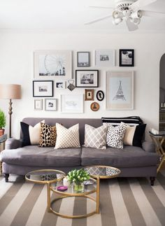 Multi-pillow patterns and grouping of photos