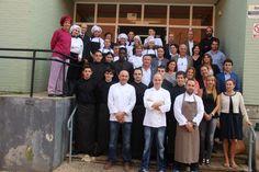 II Encuentro de Cocineros de Villas Marineras celebrado en el Instituto Fuente Fresnedo de Laredo el 21 de octubre de 2014.