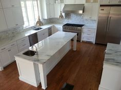 Elm Street, Concord MA   Modern   Kitchen Countertops   Boston   By  Absolute Granite