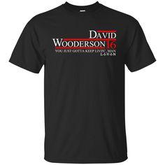 David Wooderson 2016 Tee/Hoodie/Tank