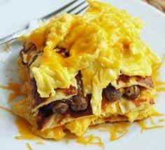 Breakfast Lasagna 17 Day Diet Cycle 1