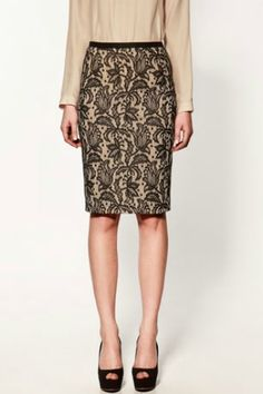 Zara lace sheath skirt - why can't I find this in the stores anymore ?? aaaaaah.