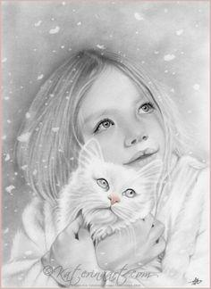 First Snow by Katerinaartkoukiotis.deviantart.com on @deviantART