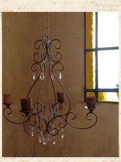 Araña Hierro Oxido 2 Luces (modelo Alma) Artesanal 100% - $ 1.950,00 en Mercado Libre Bathroom Chandelier, Diy Chandelier, Iron Wall Decor, Iron Furniture, Iron Work, Wire Art, Wrought Iron, Lamp Light, Ceiling Lights