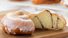 These biscuit doughnuts with a cinnamon roll in the middle are sure to amaze your family and friends.