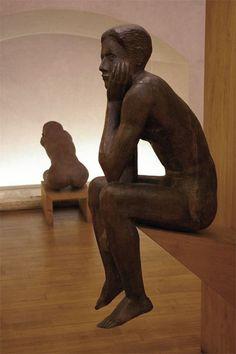 The Thinkerman (Pensatore)  Marino Marini Museum, Florence, Italy