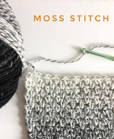 Moss Stitch - Daisy Farm Crafts