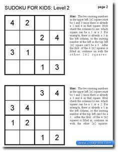 sudoku per bimbi