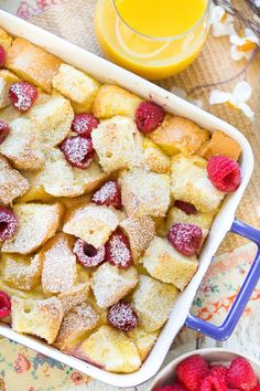 Lemon Raspberry French Toast Casserole Recipe Breakfast and Brunch with french… Breakfast And Brunch, Breakfast Dishes, Breakfast Recipes, Breakfast Ideas, Raspberry Breakfast, Breakfast Healthy, Brunch Ideas, Food Porn, 9x13 Baking Dish
