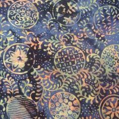 batik. Press printing block into melted wax instead of paint. Love this!