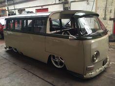 Volkswagen Camper T2 custom Bay window 1972 K reg Custom restored vr6 engine porsche alloys