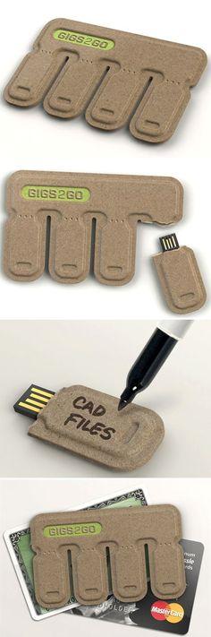 Tear and Share USB !!!!! #giftideas #geek