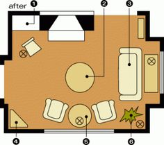 Room Arrangements for Awkward Spaces | Midwest Living