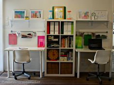 Best kids playroom organization ikea homework station ideas - Image 6 of 24