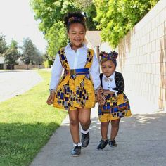 Ankara Xclusive: Check Out This Latest Ankara Styles For Your Lovely Kids