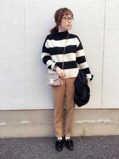 mizuhoさんのパンツ「TODAYFUL センタープレスパンツ」を使ったコーディネート