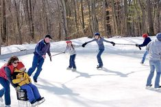 Backyard Ice Rink DIY Home Projects