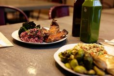 QUICKIE QUINOA   Offerings at Little Beet in Manhattan run to whole grains and vegetables...