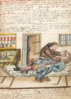 Arzneibuch. Compendium of popular medicine and surgery, receipts, etc., circa 1675