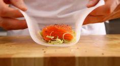 Zalmpakketjes met asperges en witte kaas - Recept - Allerhande - Albert Heijn