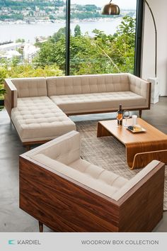 Searching for modern furniture? Kardiel specialized in mid-century modern funish. : Searching for modern furniture? Kardiel specialized in mid-century modern funishing deisgns and décor at competative prices. Click now to explore our catalog! Home Furnishing Stores, Home Furnishings, Living Room Sofa, Living Room Decor, Living Rooms, Apartment Living, Living Area, Wooden Sofa Designs, Canapé Design
