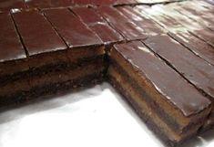 Recent Recipes - Receptik. Sweet Desserts, No Bake Desserts, Sweet Recipes, Hungarian Cake, Hungarian Recipes, Hungarian Food, Fudge Cake, Brownie Cake, No Bake Cookies