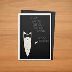 Suit and Tie Valentine's Day card.  Download the PDF here: http://www.bradellis.me/art/cards2014/SuitAndTieCard.pdf