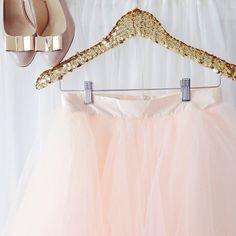 Sequined Skirt Hanger