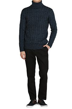 Hipsteration Mens Turtleneck Cable Knitted Sweater Navy, M Hipsteration http://www.amazon.com/dp/B01B4XRNP6/ref=cm_sw_r_pi_dp_29nQwb1VJ50VX