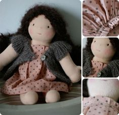 Waldorf doll...sweet!
