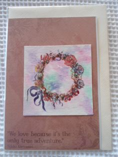 Shabby chic handpainted cards | Felt Get other images and videos for shabby chic furniture at coastersfurniture.org