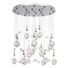 Possini Euro Paperweight Crystal Chandelier by Euro Style Lighting $1,000