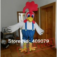 White Rooster Mascot Costume Adult Rooster Costume Mascot Costumes, Adult Costumes, Rooster Costume, Chicken Costumes, Costume Accessories, Dinosaur Stuffed Animal