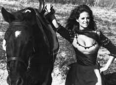 Claudia Cardinale in The Adventures of Gerard Hollywood Icons, Classic Hollywood, Old Hollywood, Bridgette Bardot Style, Brigitte Bardot, Claudia Cardinale, Francoise Hardy, Italian Actress, Italian Beauty