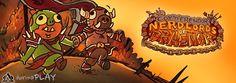 """Video oyunlarına deyim yerindeyse """"salça olan"""" Jesse Cox ve Wowcrender, bir grup arkadaşlarını toplayıp World of Warcraft'a konuk oluyor  Cox n'Crendor'u Dreanor'un ön saflarında göreceğiz http://six.tc/cox-n-crendor-world-of-warcrafta-uyarlaniyor-nerlords-of-dreanor/3961"""