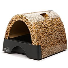 Leopard print litter box? Sign us up!