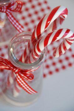 liebesbotschaft - christmas - candy canes