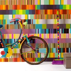 "EIJFFINGER, the Netherlands, ""Stripes Only"", (Printed on Smartpaper), pinned by Ton van der Veer"