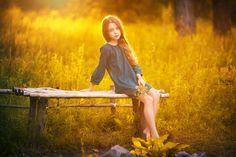 Girl/ summer light by Serg  Piltnik (Пилтник) on 500px