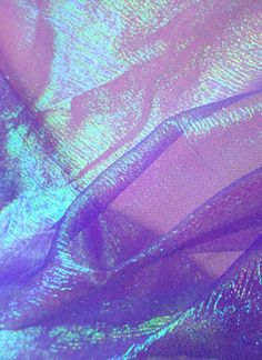 Moonglow Iridescent Crinkle Organza Fabric, Lavender Field - by the yard Lavender Aesthetic, Purple Aesthetic, Aesthetic Photo, Ceiling Draping, Frozen Costume, Purple Walls, Lavender Fields, Photo Wall Collage, Fashion Fabric