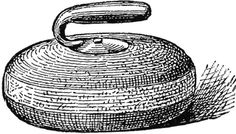 A stone used in the game of curling. In shape it resembles a small convex cheese with a handle in the upper side. Small Daisy Tattoo, Small Words Tattoo, Small Couple Tattoos, Small Hand Tattoos, Ankle Tattoo Small, Small Love Tattoos, Back Of Leg Tattoos, Girl Thigh Tattoos, Cool Half Sleeve Tattoos