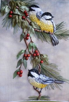 Wonderful Ribbon Embroidery Flowers by Hand Ideas. Enchanting Ribbon Embroidery Flowers by Hand Ideas. Paper Embroidery, Silk Ribbon Embroidery, Crewel Embroidery, Cross Stitch Embroidery, Embroidery Patterns, Machine Embroidery, Embroidery Supplies, Embroidery Books, Swedish Embroidery
